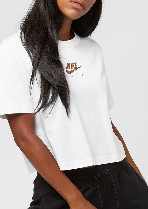NIKE Air Crop white