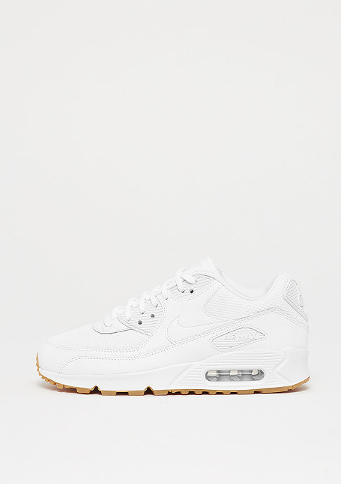 NIKE Wmns Air Max 90 white/white-gum light brown