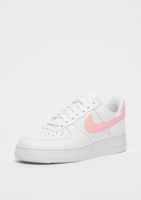 NIKE Air Force 1 white/oracle pink-white