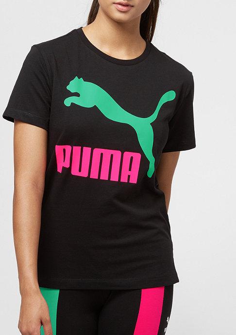 Puma Classics Logo cotton black/green