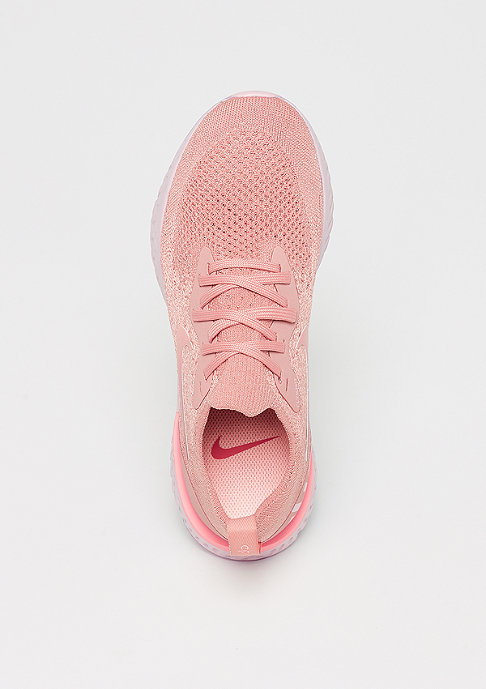 NIKE Running Wmns Epic React Flyknit rust pink/pink tint-tropical pink
