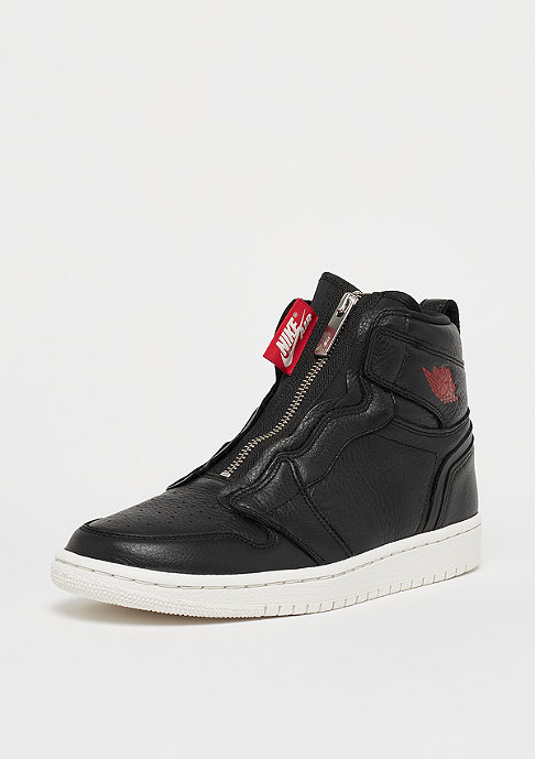 JORDAN Air Jordan 1 High Zip black/gym red-phantom