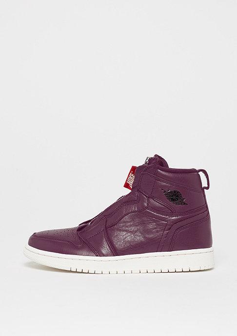 JORDAN Air Jordan 1 High Zip bordeaux/black-phantom