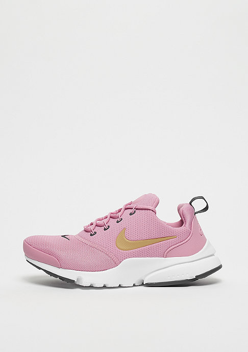 NIKE Presto Fly (GS) elemental pink/metallic gold-gridiron