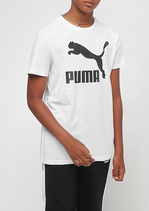 Puma Junior Classic white