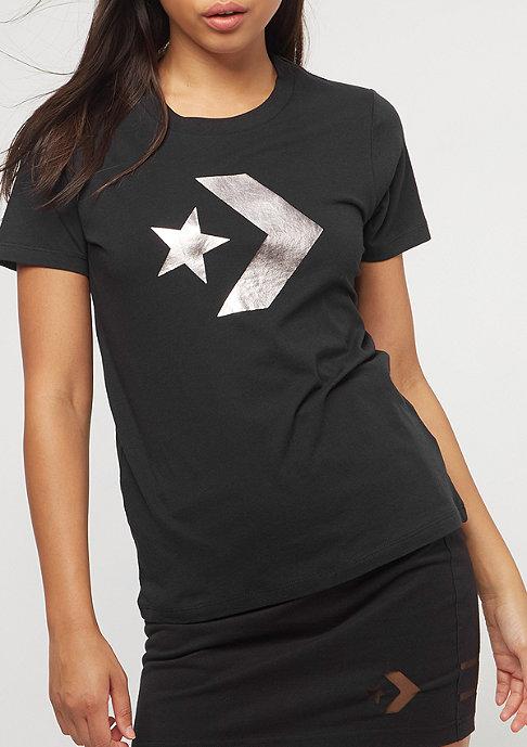 Converse Star Chevron Metallic black