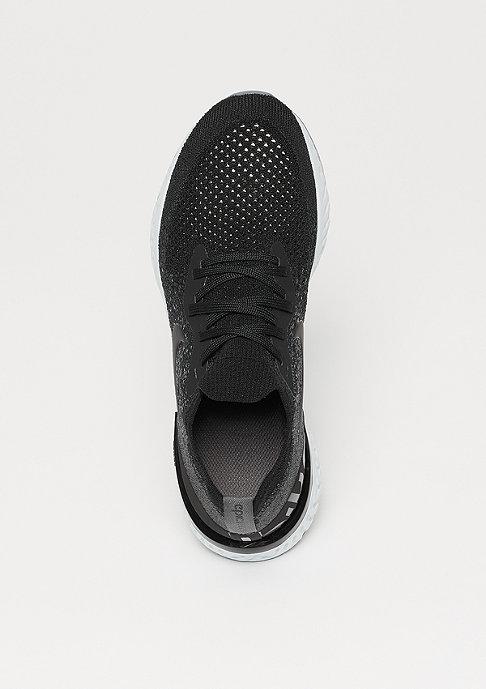 NIKE Running Epic React Flyknit (GS) black/black-dark grey-pure platinum