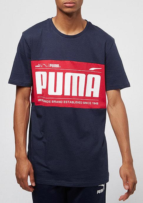 Puma Graphic Logo Block peacoat