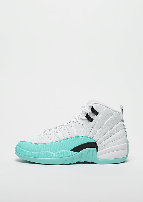 JORDAN Air Jordan 12 Retro (GS) white/black-light aqua