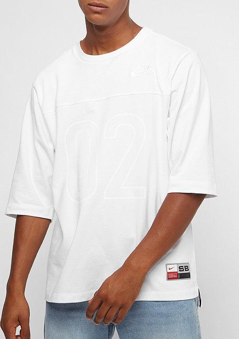 NIKE SB Dry 3QT GFX white/white