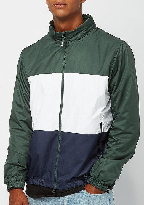 NIKE SB Dry Hooded Stripe midnight green/white/obsidian