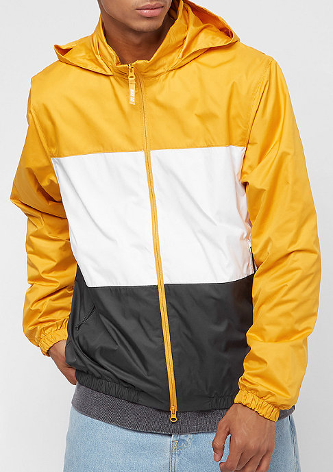 NIKE SB Dry Hooded Stripe yellow ochre/white/anthracite
