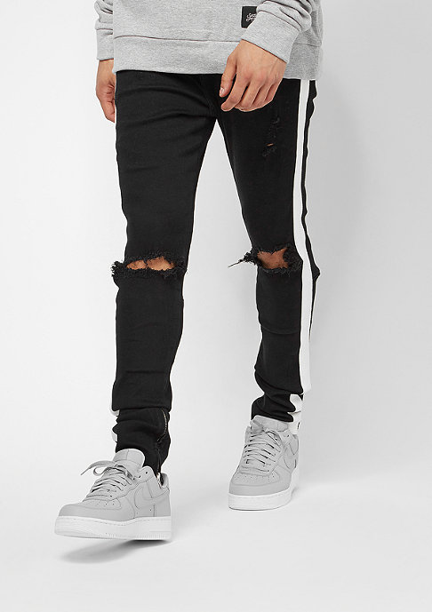 Sixth June Denim With Unicolor Bands black
