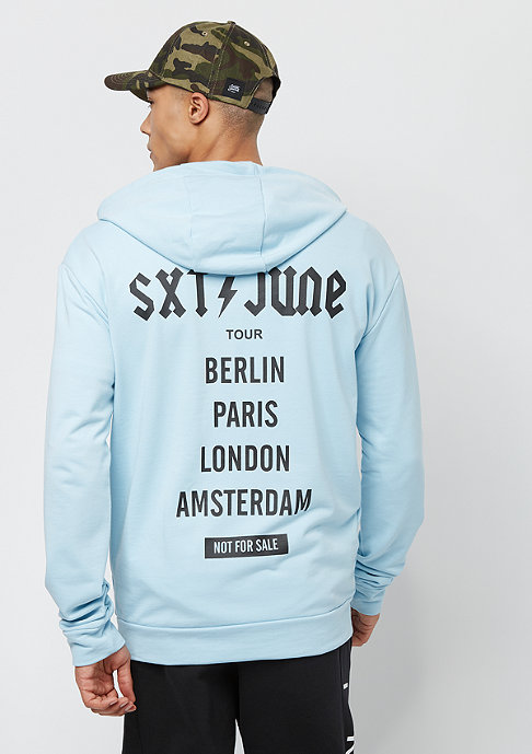 Sixth June Hoddie Crew light blue