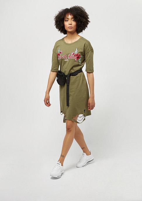 Sixth June Dress TS 6J Roses khaki