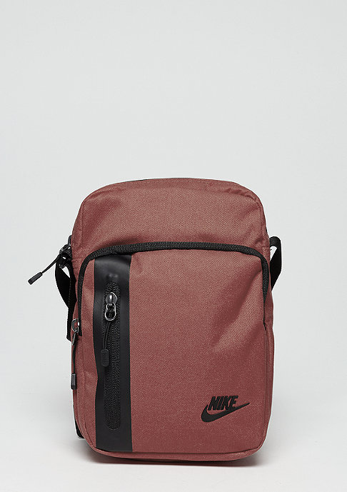 NIKE Tech Small Items red sepia/black/black
