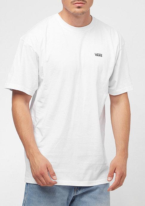 VANS Left Chest Logo white