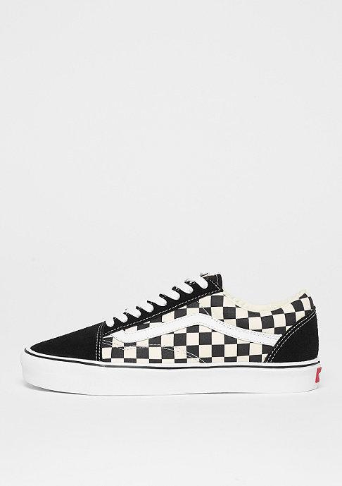 vans old skool lite checkerboard black white