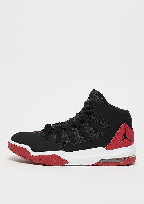 JORDAN Max Aura black/gym red/white