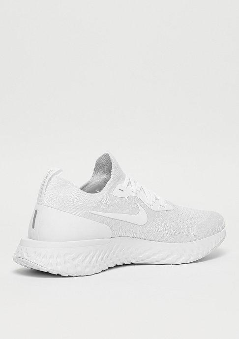NIKE Running Epic React Flyknit true white/white/pure platinum