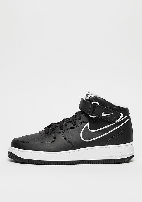 NIKE Air Force 1 Mid '07 Leather black/white