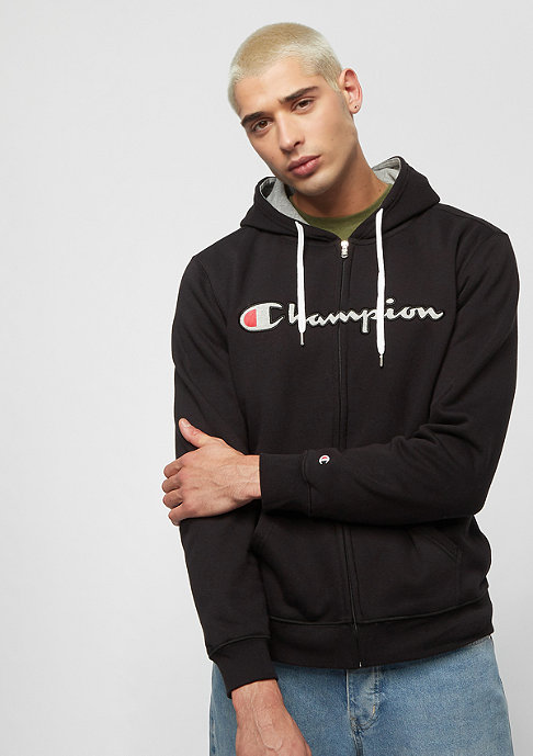 Champion American Classics black/light grey heather