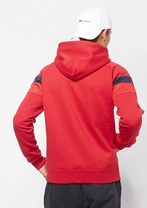 Champion Sweatsuit Hooded Full Zip red/navy/navy