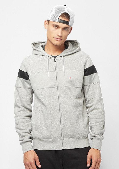 Champion Sweatsuit Hooded Full Zip light grey heather/black/black