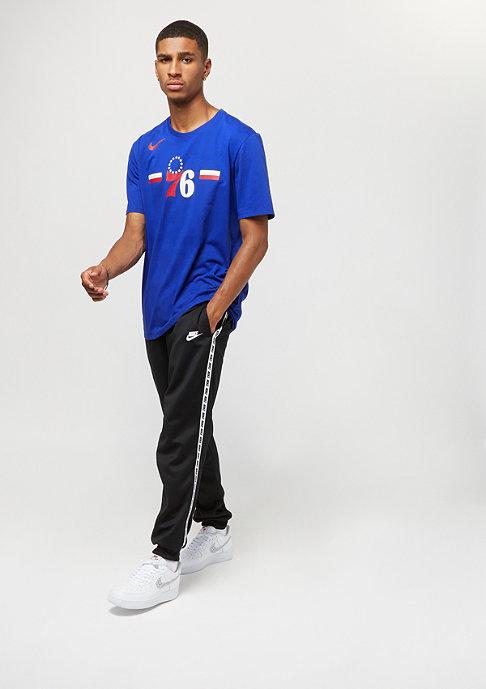 NIKE Basketball NBA Philadelphia 76ers Dry rush blue