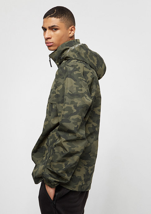 Iriedaily Gridstop camouflage/olive