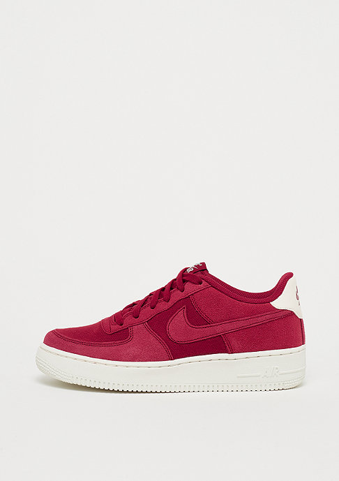 NIKE Air Force 1 (GS) red crush/red crush-sail