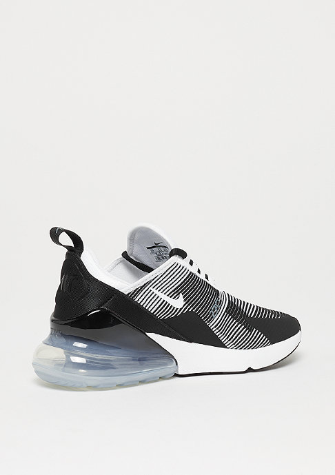 NIKE Air Max 270 Knit Jaquard (GS) black/white-cool grey-metallic silv
