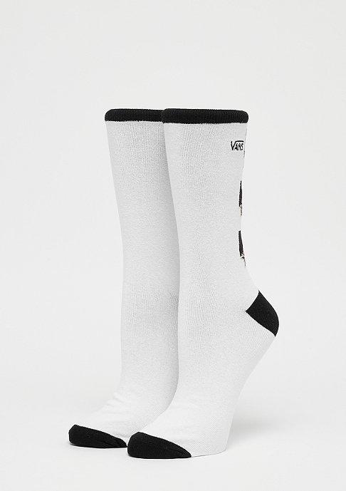 VANS Rose Ticker Sock white