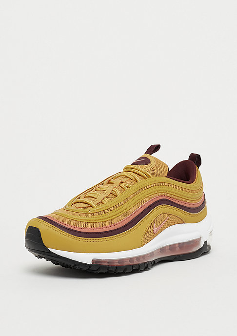 NIKE Wmns Air Max 97 wheat gold/terra blush-burgundy crush