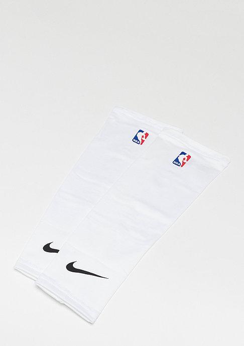 NIKE Shooter Sleeves NBA white/black