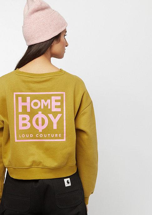 Homeboy HB WMN JADA Sweat Hood lime olive