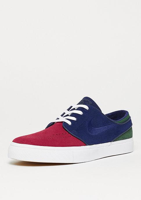 NIKE SB Zoom Stefan Janoski red crush/blue void/white/midnight green