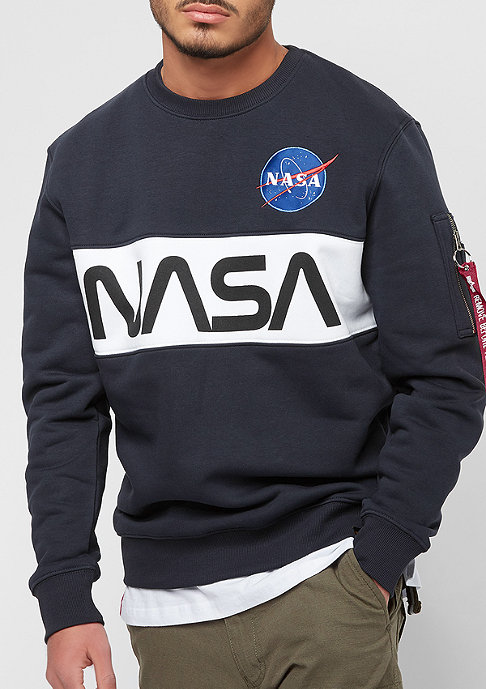 Alpha Industries NASA Inlay rep.blue