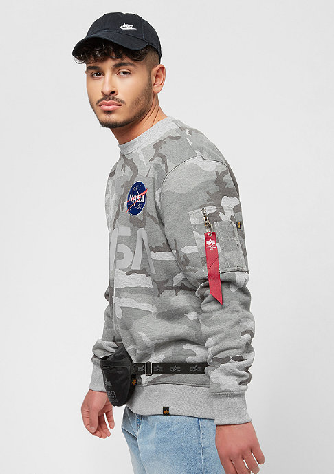 Alpha Industries NASA Reflective grey camo