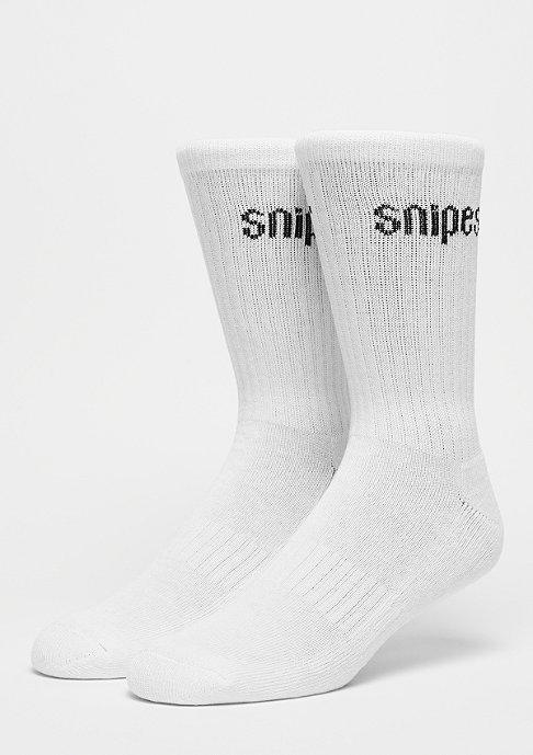 SNIPES 2er Basic Crew white