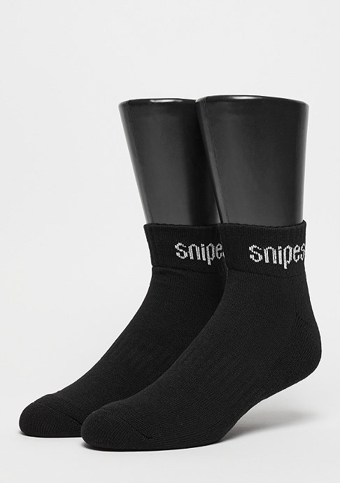 SNIPES 2er Basic Ankle black