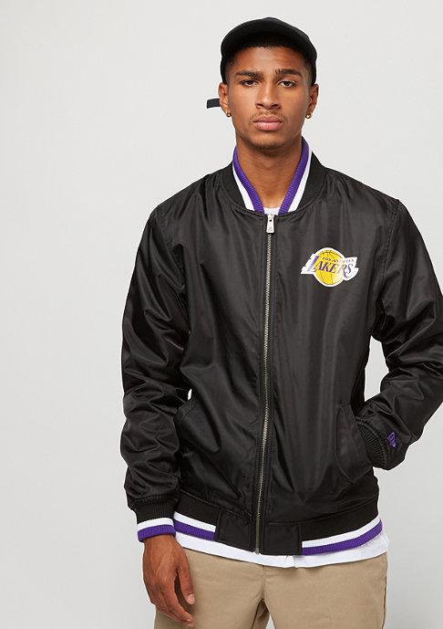 New Era Varsity Jacket Team APP NBA Los Angeles Lakers black