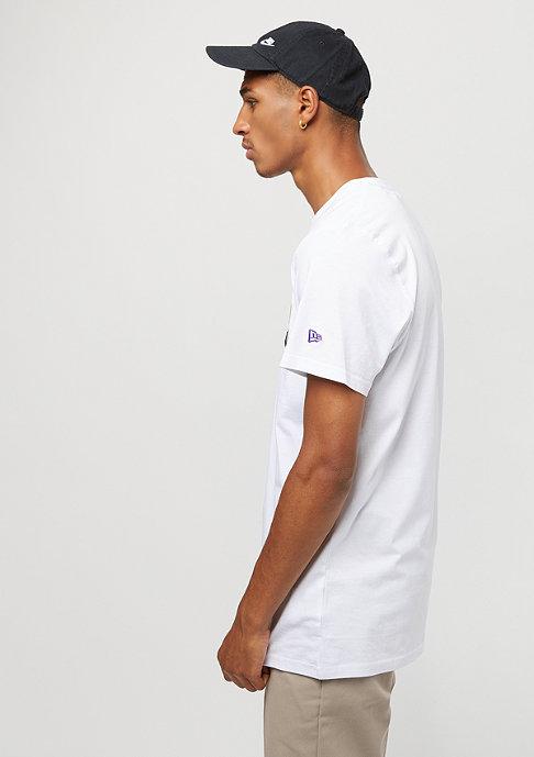 New Era Team App NBA Los Angeles Lakers white