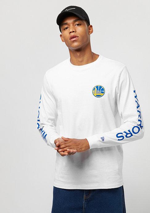 New Era LS Team APP Golden State Warriors white