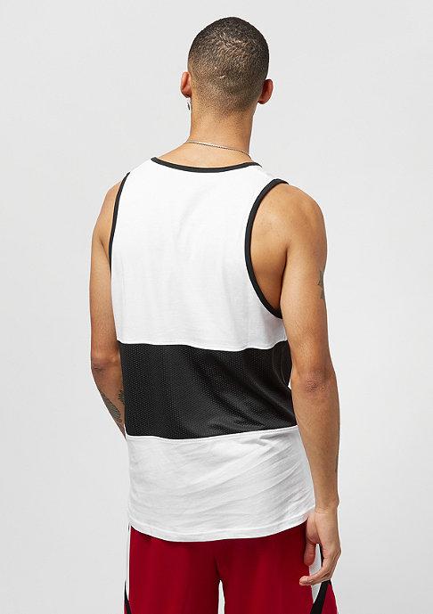 New Era Mesh Wordmark Tank NBA Chicago Bulls white black