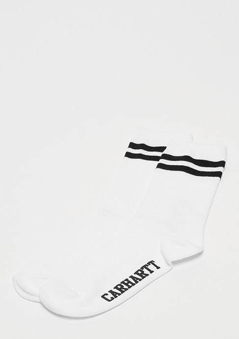 Carhartt WIP College Socks white/black