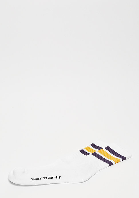 Carhartt WIP College Socks white/lakers quince