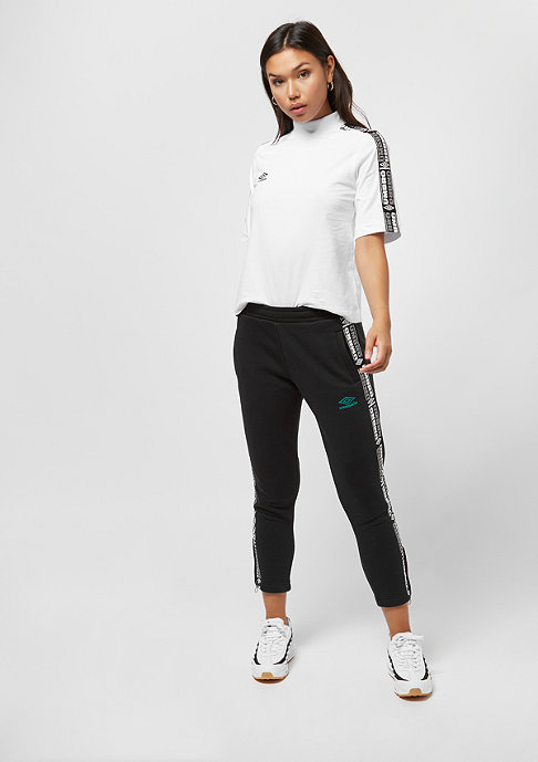 Umbro wmn High Neck SS white/black