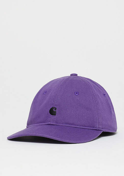 Carhartt WIP Madison Logo Cap frosted viola/black