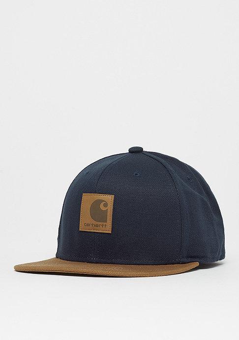Carhartt WIP Logo Bi-Colored dark navy/hamilton brown